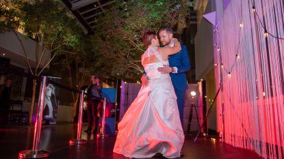 Veel liefde en trouwjurken in de JOE-studio: getrouwde koppels doen openingsdans nog eens over
