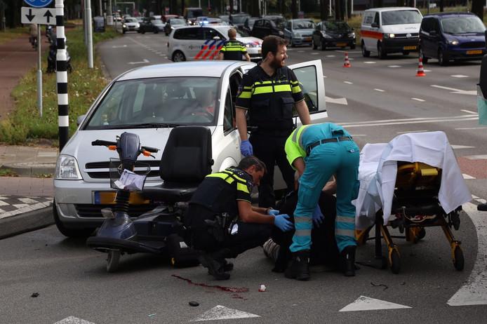Scootmobieler aangereden in Eindhoven