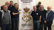 Oudgedienden van de zeemacht organiseren Maatjeshappening