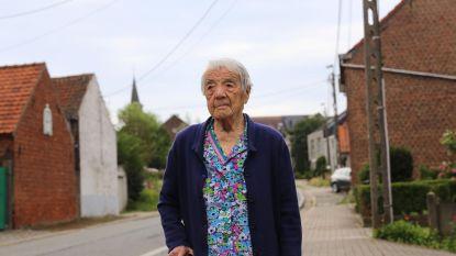 Adeline (104), de oudste inwoonster van Asse, is overleden