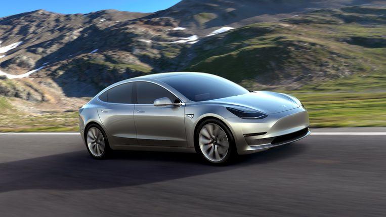 De Tesla Model 3, de elektrische auto voor 'de gewone mens'.