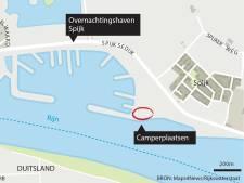 Ook camperaars kunnen straks terecht bij de haven bij Spijk