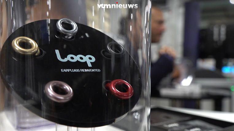 Loop is een van de Belgische bedrijven op de CES-beurs.