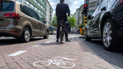 Provisoir fietspad Turnhoutsebaan verder uitgebreid