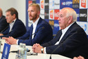 Ivan De Witte, Wim De Decker en Michel Louwagie.