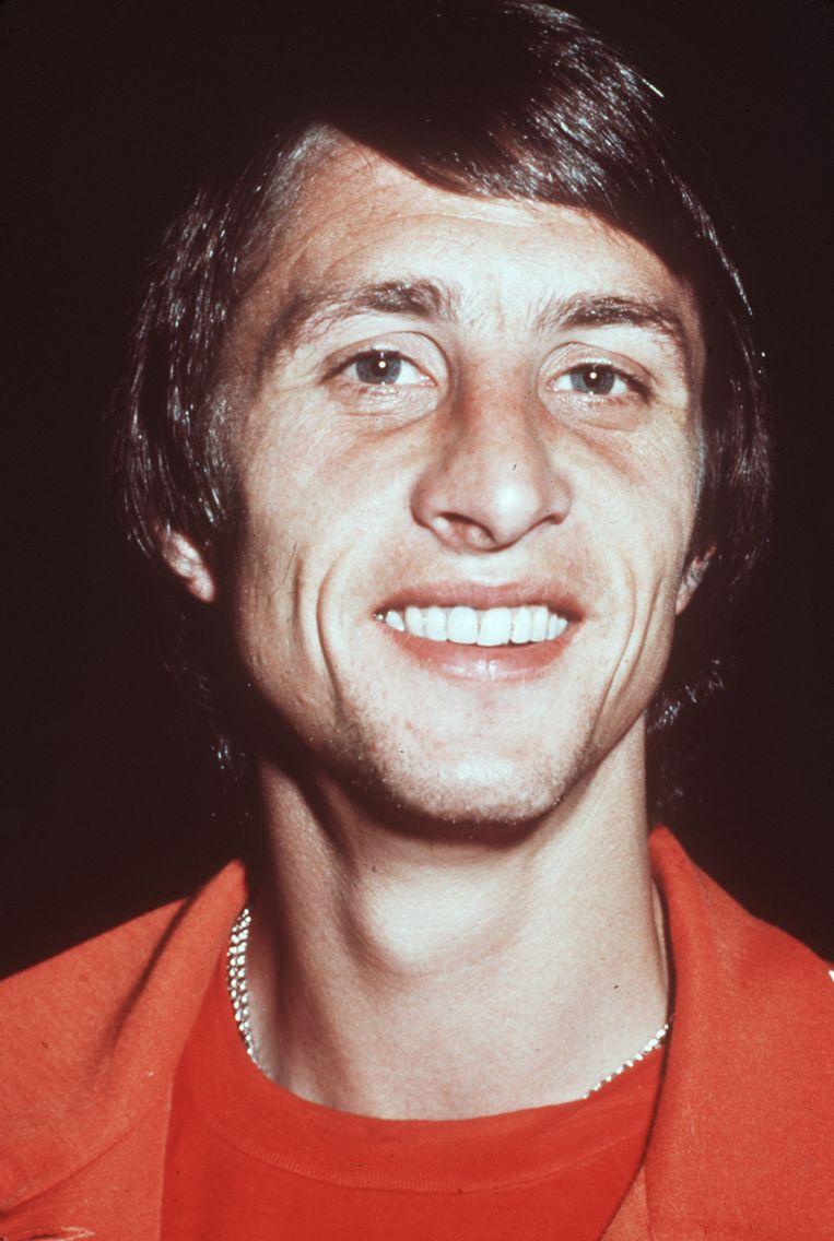 Johan Cruijff in 1974. Beeld afp