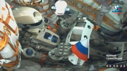 Russische robot Fiodor aan boord van ruimtestation ISS: koppeling capsule nu wel gelukt