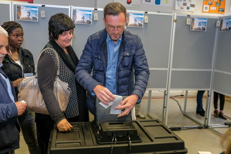 Pascal Smet (SP.A) haalde het hoogste aantal voorkeurstemmen aan Nederlandstalige kant.