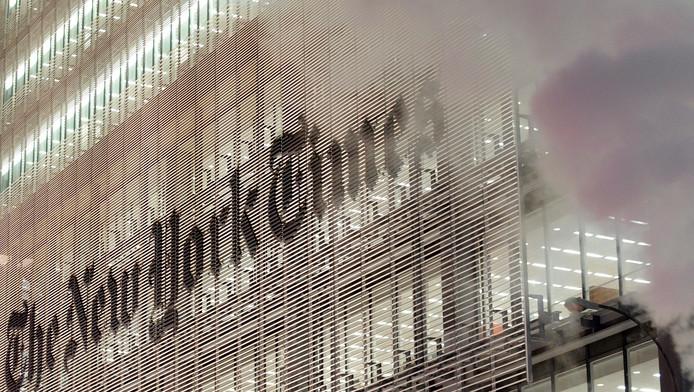 Het gebouw van de New York Times