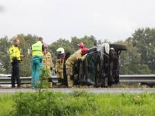 Gewonde, ravage en file na ernstig ongeluk op A1 bij Bathmen