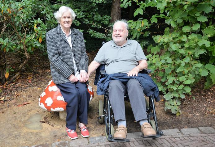 Briljanten paar Riet en Jan Ruis.