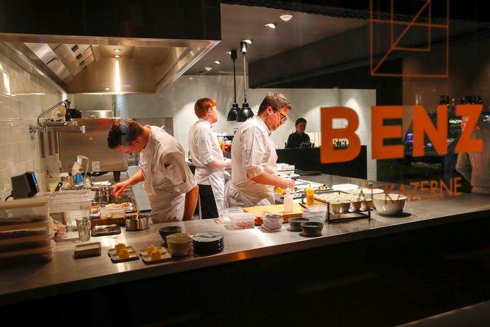 In de Kazerne in Eindhoven opende in maart een tweede restaurant: Benz.