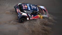 Carlos Sainz slaat dubbelslag in zevende rit in Dakar
