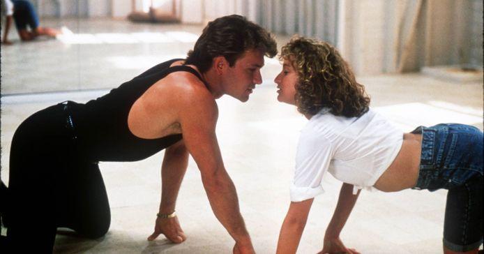 Patrick Swayze en Jennifer Grey konden het veel minder goed vinden met elkaar dan iedereen dacht.