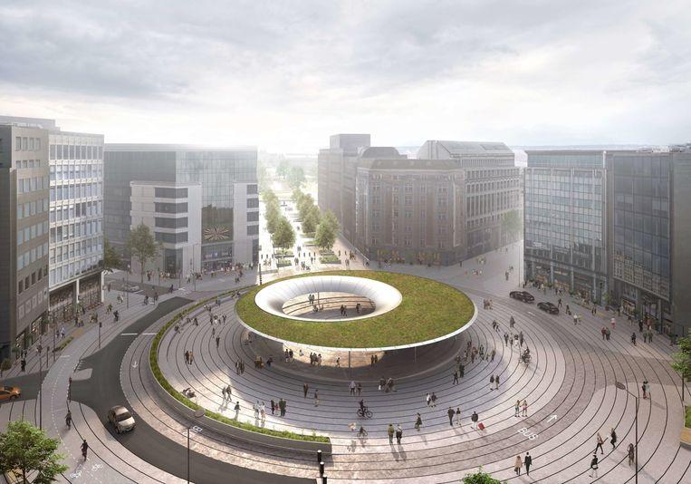 Toekomstige Schumanplein