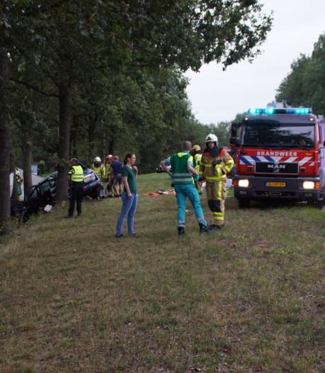 Vijf gezinsleden gewond na verkeersongeval op N18 bij Groenlo