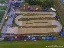 Eerste wedstrijd op nieuwe  BMX baan van Twentse Ros in Hengelo