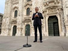 Andrea Bocelli brengt 'licht tijdens donkere dagen' met optreden in Milaan
