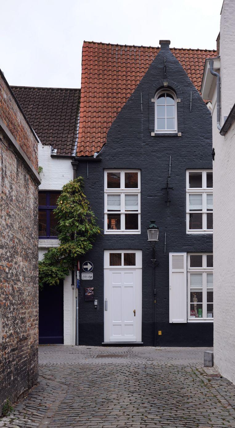 De woning van Sophie Destrooper in Brugge.