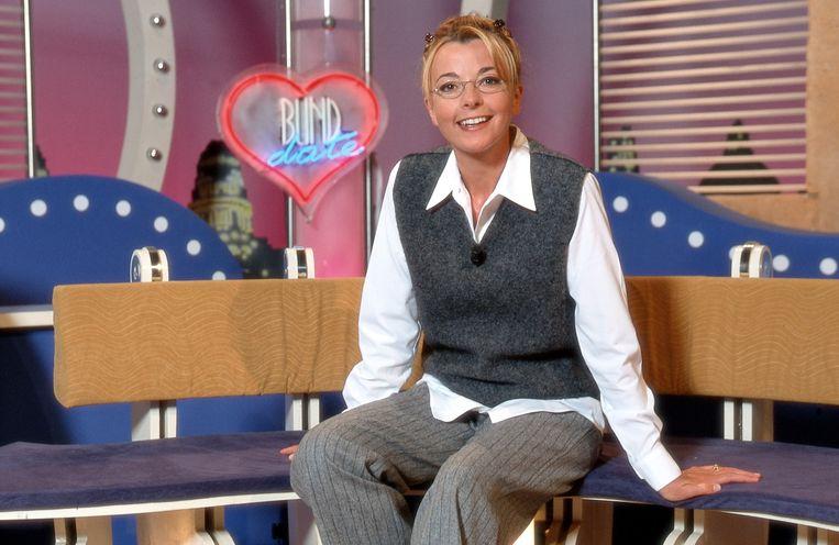 Ingeborg presenteerde 'Blind Date' in de jaren 90.
