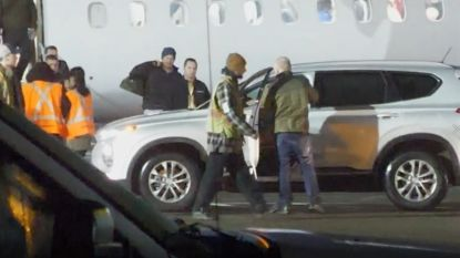 Prins Harry is gearriveerd in Canada