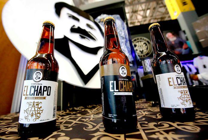 Flesjes 'El Chapo'-bier.