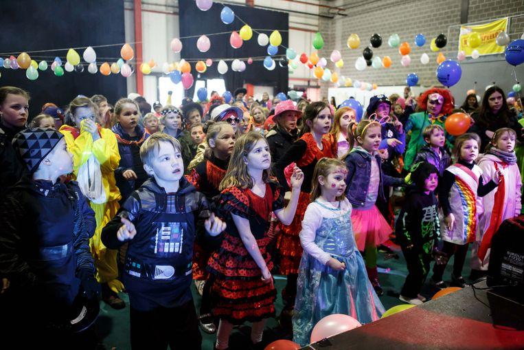 Het kindercarnaval gaat om 14 uur van start in OostCampus.
