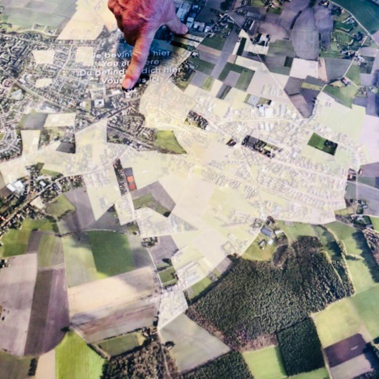 Baarle: lappendeken met dertig enclaves. Beeld