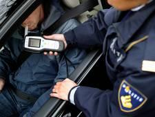 Meerdere bestuurders betrapt met drank op achter het stuur