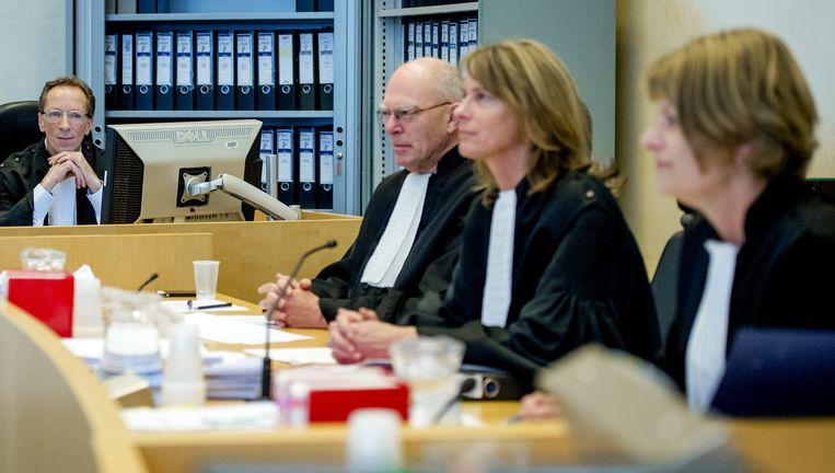 Zitting van de rechtbank van Amsterdam. Beeld anp