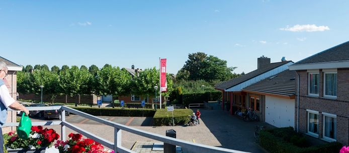 Mariahove in Ossendrecht waar pijnconsulent Natasja Reijnders. Er wonen zo'n 90 ouderen.