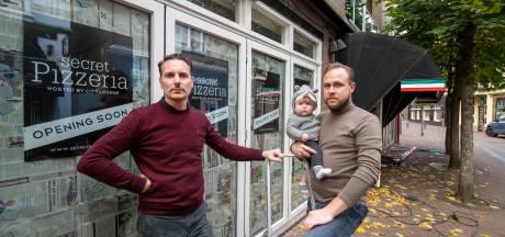 Zelfs één dag Secret Pizzeria is Mark en Simon niet gegund. Apeldoornse horeca-ondernemers schakelen over op plan C