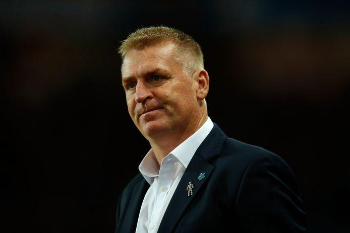 Aston Villa-manager Dean Smith.