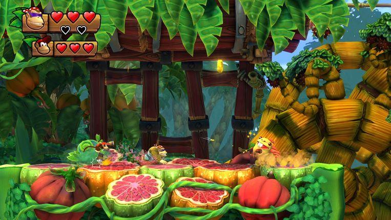 En we eindigen ook op de Nintendo Switch met 'Donkey Kong Country: Tropical Freeze'.