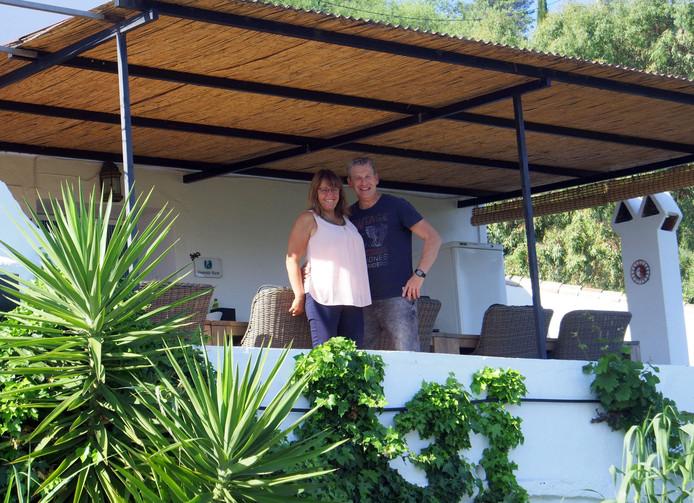 Petra en Geert-Jan Timmers vertrokken naar Comares, een goed uur rijden van Malaga.