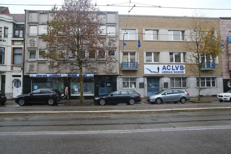 De kantoren van het ACLVB aan de Koning Albertlaan zijn voorlopig beschermd als monument.