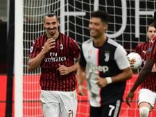Ibrahimovic helemaal zichzelf na zege op Juve: 'Ik ben spits, trainer en voorzitter ineen'