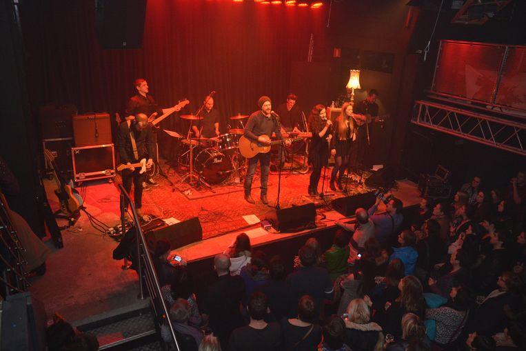 Zaal Cinema in Aalst, waar ook regelmatig optredens georganiseerd worden.