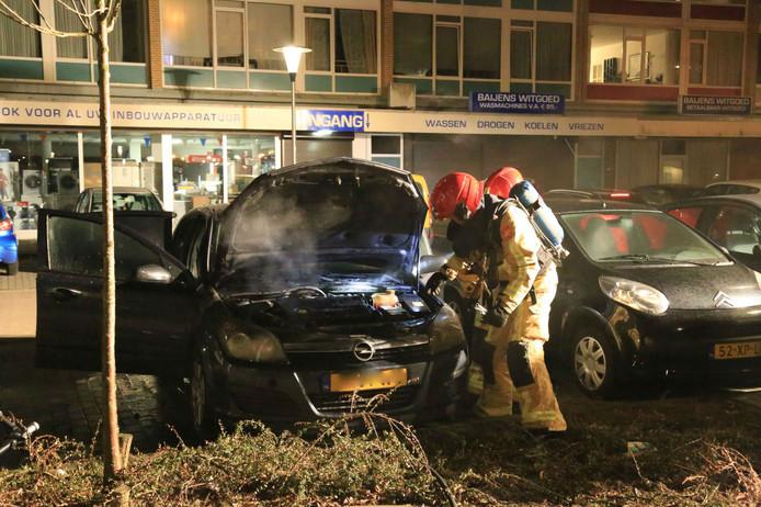 Alweer een autobrand in Helmond