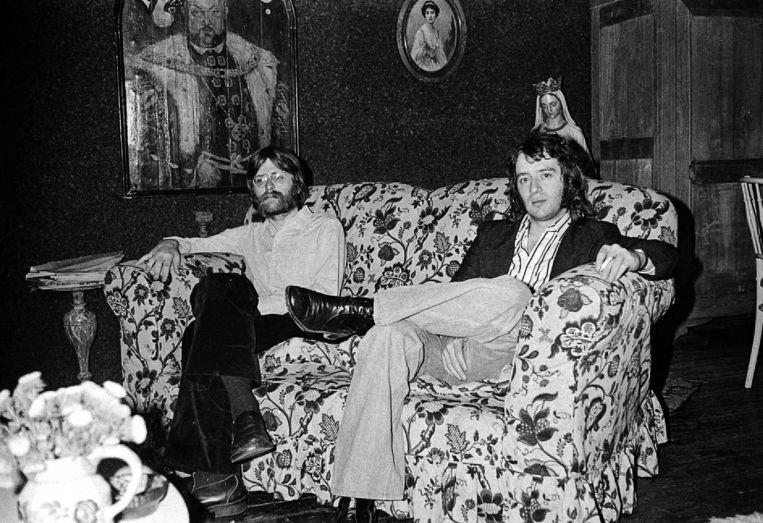 Berry Visser en Leon Ramakers in 1973. Beeld Frans Verpoorten