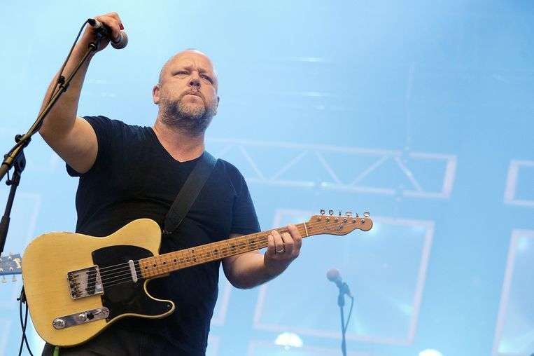 Frank Black van de Pixies. Beeld epa