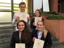 Groot succes voor Enschedese leerlingen bij VN-conferentie in India