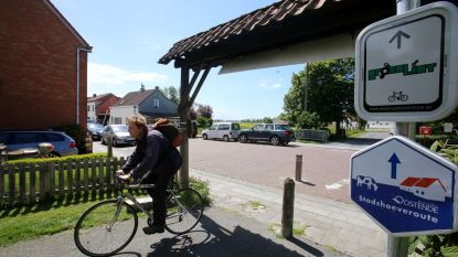 Oudenburg maakt deel uit van recreatieve fiets-  en wandelroute Groen Lint rond Oostende