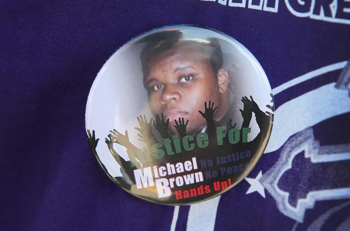 Michael Brown badge