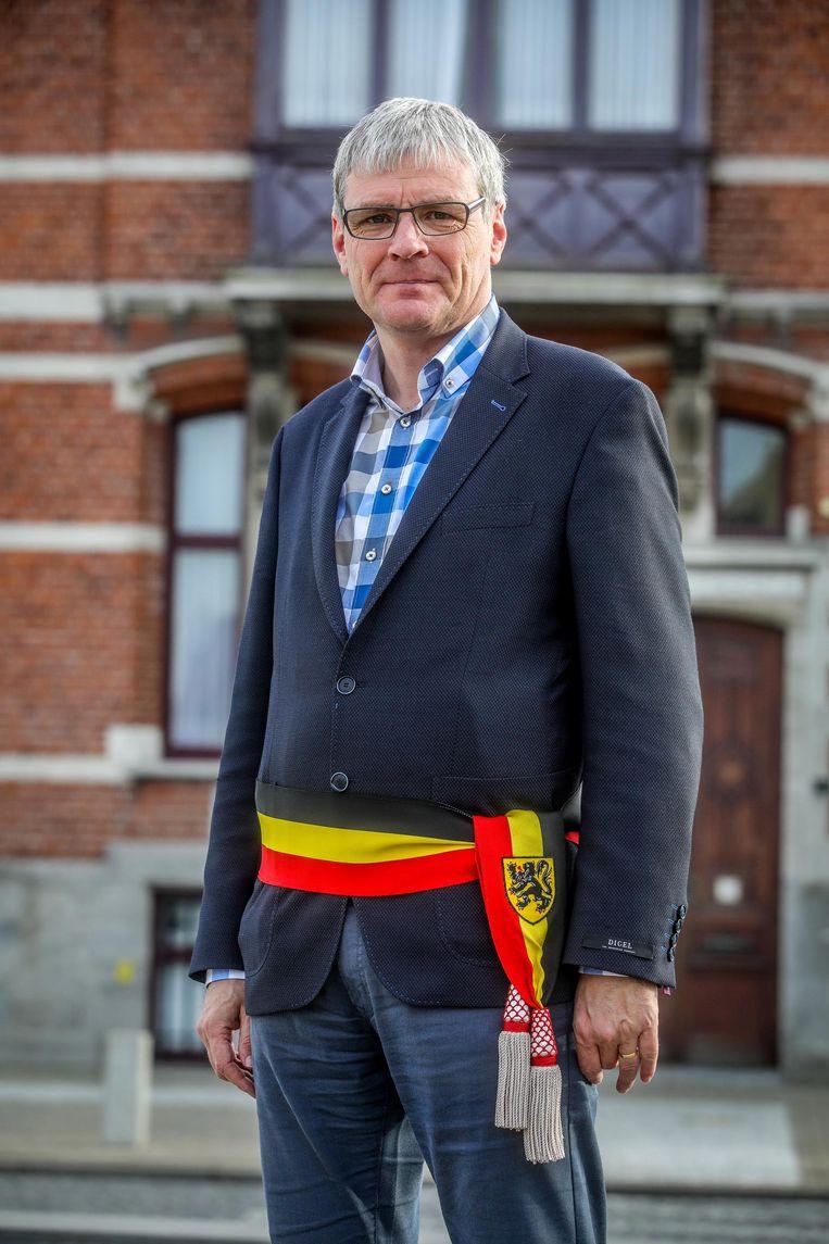Burgemeester Patrick Lansens (sp.a) doet zijn plannen uit de doeken.