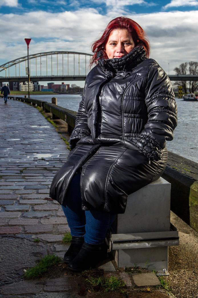 Colombiaanse journaliste Claudia Julieta Duque dook onder in Deventer.