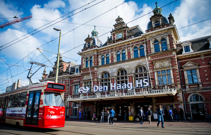 Station Den Haag Holland Spoor
