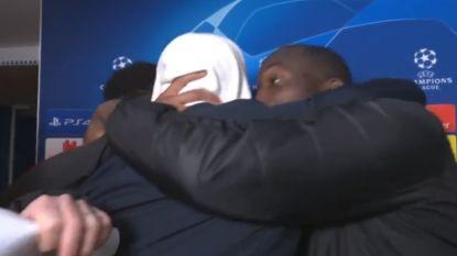 """Lukaku, die interview 'gecrashed' ziet door Pogba: """"Ik zei Rashford dat hij vooral moest schieten"""""""