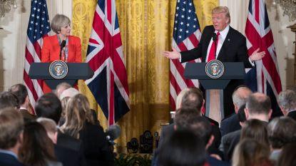 Trump ontmoet Britse premier May volgende week in Davos