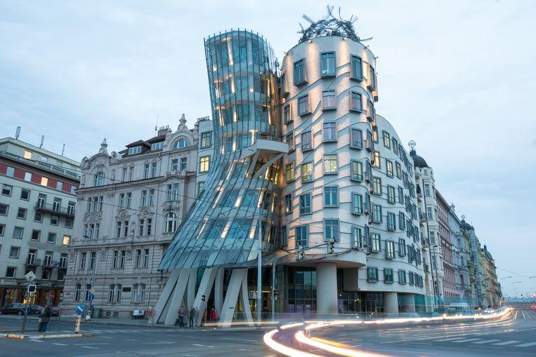 Het Dansende Huis in Praag.